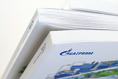 FOLX нарисовал отчет для Газпрома