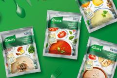 Вкусный дизайн супов Knorr