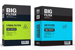 """Редизайн упаковки торговой марки """"BIG FILTER"""""""