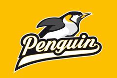 Пингвин-пловец и контрастные цвета