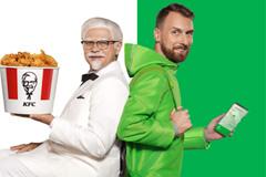Delivery Club доставит Полковника Сандерса в новой рекламной кампании с KFC