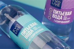 Дизайн упаковки для бренда питьевой воды Evolive