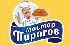 """Новый дизайн торговой марки """"Мастер Пирогов"""" от бренд-бюро iQonic"""