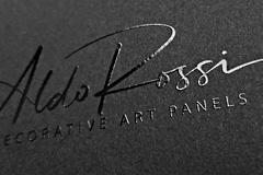 FOLX разработал айдентику AldoRossi, производителя декоративных стеновых арт-панелей