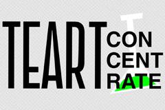ТЕАРТ-концентрат 2019: айдентика международного театрального форума от агентства AVC