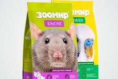 """Агентство """"METROPOLIA"""" реализовало проект по редизайну упаковок кормов для животных компании """"ЗООМИР"""""""