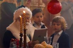 Сбербанк представил новогодний ролик про Деда Мороза, современные технологии и человеческие взаимоотношения