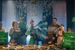 """Delivery Club запустил федеральную рекламную кампанию """"Счастье есть"""""""
