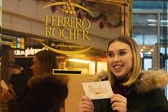 Новогоднее золото Ferrero Rocher