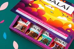 Праздник, сказка и яркие краски: дизайн лимитированной коллекции чая Dalai от Fabula Branding