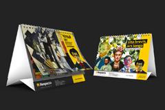 Размышления великих художников о цвете в календаре для компании Respecta от IDEW MEDIA