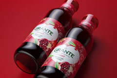Ребрендинг соков Grante от BQB