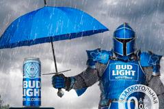 Рыцарь BUD Light Non Alcoholic покоряет Москву: символ бренда появится на интерактивных билбордах города