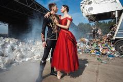 """Российские артисты балета поучаствовали в необычном фотопроекте """"Le Souffle. Дыхание"""", посвященном экологии"""