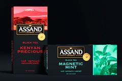 Чай ASSAND от Yasno.branding agency: современный подход к неймингу и дизайну