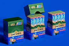 Яркий дизайн для Ice Coffee от Jacobs