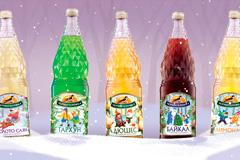"""В новый год - без остановки: праздничное дизайн-решение для лимонадов """"Черноголовка"""" от Fabula Branding"""