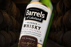 Дизайн виски Barrels of Lakeland от Armbrand