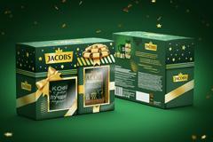 Дизайн набора Jacobs: два подарка в одной коробочке