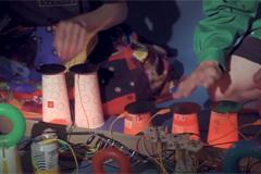 Макдоналдс и Playtronica представили трек, созданный из звуков перерабатываемой упаковки