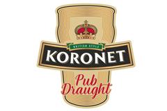 Pub Draught. Разработка дизайна для нового сорта премиального пива Koronet
